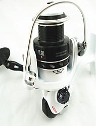 Molinetes Rotativos 4.9;1 8.0 Rolamentos Trocável Pesca Geral - TF4000 TOPLY
