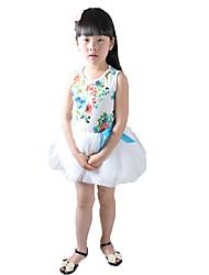 BznI.Baza Brand Children's Wear Summer Dress TZ0933 of The Girls