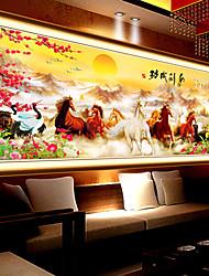 Diamante 5d desenhar novo sucesso para colar de ponto de diamante oito cavalos pinturas bordados sala grande imagem