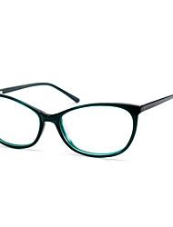 [lense livre] acetato de gato-olho full-jante óculos de computador prescrição retro das mulheres