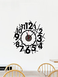 DIY Crossing Number Wall Clock