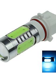 1X  5 COB  LED Ice Blue P13W PSX26W LED Bulb Non-polar  Fog Lamp Light 7.5W  AC/DC12-24V H402