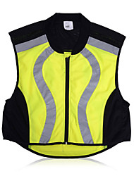 Bike/Cycling Vest/Gilet / Tops Unisex Sleeveless Breathable / Reflective Strips / Lightweight Materials Terylene Yellow / PinkS / M / L /