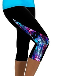 Women's Casual Print Fitness Active Skinny Pants