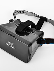 """Caja mágica 3d realidad 3D y video gafas universales virtuales para 3.5 '' - 5,6 """"smartphones-negro"""