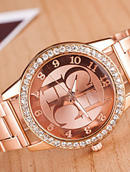 Women's Watch Major Suit Alloy Watch Diamond Watches Lady Quartz Watch Cool Watches Unique Watches