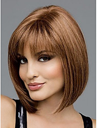 Beautiful Classic Synthetic Hair Wig,Auburn Fashion Hair,Lady Wig,Short Hair,,High-quality