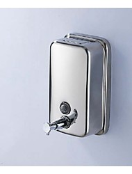 Stainless Steel Chrome Finish Wall Mounted Liquid Soap Dispenser 1000 ml
