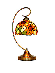 Lampe de table - Tiffany - Métal - Tons multiples