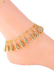 u7® vrouwen trendy likdoorns charmes 18k echt goud / geplatineerd mooie kinderen sieraden enkelbanden armbanden enkelbanden