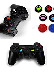 Thumb Stick Grip Case PS4/PS3/PS2/Xbox One 360 Wii Controller Cover 3D Cap(2 PCS with Random Color)