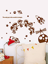наклейки для стен наклейки для стен, современные космические науки фантастика пвх наклейки
