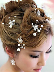 Crystal Crown Hair Clip Bride Hair Wedding Headdress Wedding Accessories One Piece