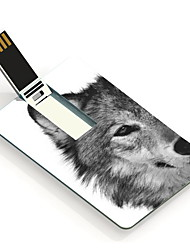 64GB The Wolf Design Card USB Flash Drive