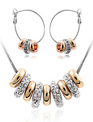 Modern Girl  Women's Fashion Cute Cute Jewelry Suits(Necklace And Earring)