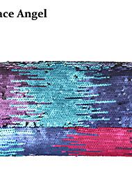 Women's Colorful Full Sequined Glitter Party Bag Envelope Evening Clutch Handbag