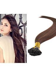 """300g / pc, 1g / strand, 100g / pc brazailian menschliches Haar i-spitzen Haarverlängerung gerades Haar 18 """", 28"""" # 1b, # 2, # 4, # 8, #"""