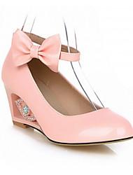 Women's Shoes Synthetic Stiletto Heel Heels/Basic Pump Pumps/Heels Office & Career/Dress/Casual Blue/Pink/Beige
