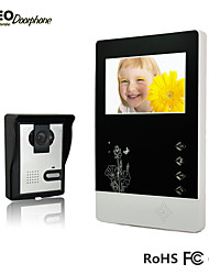 2015 New Arrival 4.3 Inch TFT LCD Screen Monitor and Night Vision Outdoor Camera Video Door Phone for Villa