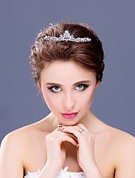 Women's Flower Girl's Rhinestone Alloy Headpiece-Wedding Special Occasion Tiaras Headbands 1 Piece