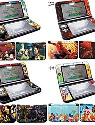 puissants peaux de protection de décalque de la peau de vinyle pour les peaux autocollant Nintendo 3DS XL / ll wrap de couverture