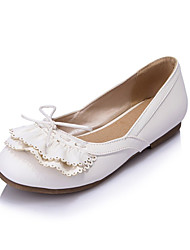 Girls' Shoes Casual Round Toe  Flats Pink/White