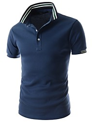 Men's Personalized Fashion Short Sleeve Polo Shirt