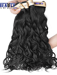 "1 Pc /Lot 12""-22""6A Malaysian Virgin Hair Natural Wave Human Hair Wefts 100% Unprocessed Malaysian Remy Hair Weaves"