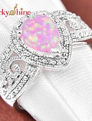 Alliances Femme / Homme / Unisexe Cristal Argent Argent 7 / 8 / 9 Argent La couleur d'embellissement est présentée comme l'image