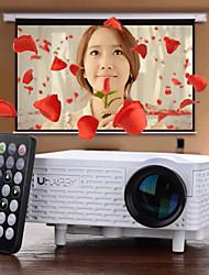 uhappy® U18 офиса и дома использовать портативные мини видеопроектор для андроид и IOS (белый)