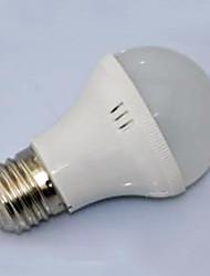 3W e27 entrée AC220V de base a conduit à bulbe, blanc chaud et blanc froid disponibles
