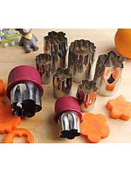 Kitchen Gadgets Stainless Steel Fruits and Vegetables Cutter Embossing Dies