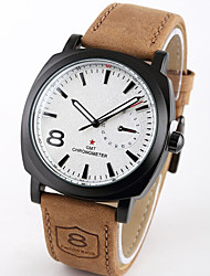 MONICV Fashion Simple Style Leather Watch