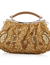 L.WEST®  Women's  Event/Party / Wedding / Evening Bag Beaded Sequined Delicate Handbag
