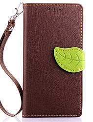 люкс личи оставляет кожаный бумажник флип чехол для Sony Xperia м2 кошелек сумочка + стропа