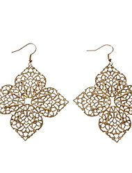 Four Leaf Flower Earrings
