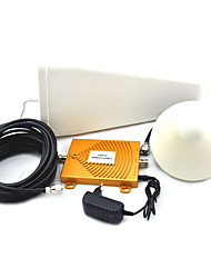 Mini 3G W-CDMA 2100MHz + GSM 900Mhz Dual Band Mobile Phone Signal Booster , Cell Phone 3G GSM Signal Repeater + Antenna