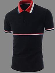 Badboy Men's Casual Shirt Collar Short Sleeve T-Shirts