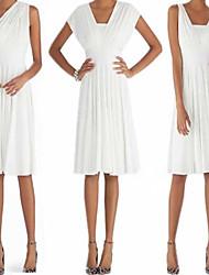 ZOSOL Women's Sexy/V Collar Sleeveless Halter Dress (wearing a variety of type)