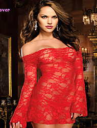 Women Lace/Polyester/Spandex Babydoll & Slips/Lace Lingerie/Robes/Ultra Sexy Nightwear