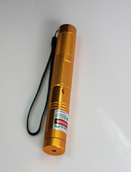 JD303 Green Laser Pointer 532nm Focusable Star Effect Beam with Key Cap