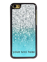 Personalized Gift Colorful Sand Design Aluminum Hard Case for iPhone 5C