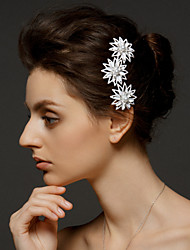 Women's Alloy Headpiece-Wedding / Special Occasion Hair Combs 1 Piece