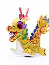 China Hand Embroidery Pendant-Twelve Zodiac Dragon Stereoscopic