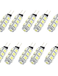 2W 13PCS 5050SMD G4 LED Bulb Light with DC12V Input, Warm White/Cool White Input