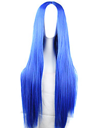 Cosplay Fashion Wig Long Straight Red Hair Color Red Long Hair Wigs Synthetic Wave Hair Wigs Fashion Style