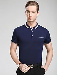 Men's Casual/Sport/Plus Sizes Pure Short Sleeve Regular tennis shirt polo shirt(Cotton/Lycra)