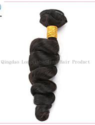 """20 """"Klasse 5a überlegene Qualität lose Welle natürliche Farbe Haar virign remy Haareinschlagfaden"""
