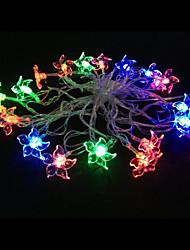 2w 4 metro luci lampadina diametro esterno 20pcs modellazione illuminazione principale stringa Bauhinia, colore rgb