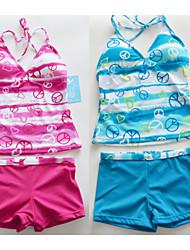 Retail New arrival Swimsuit Swimwear For 6-16Y kids students teenagers Bathing Suit Tankini Beachwear